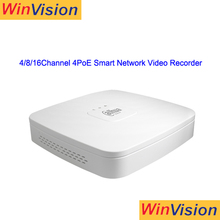 good quality nvr4104-p network video recorder 4channel 4poe smart 1u h.264 nvr