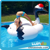 stock inflatable pool toy unicorn peacock float for promation