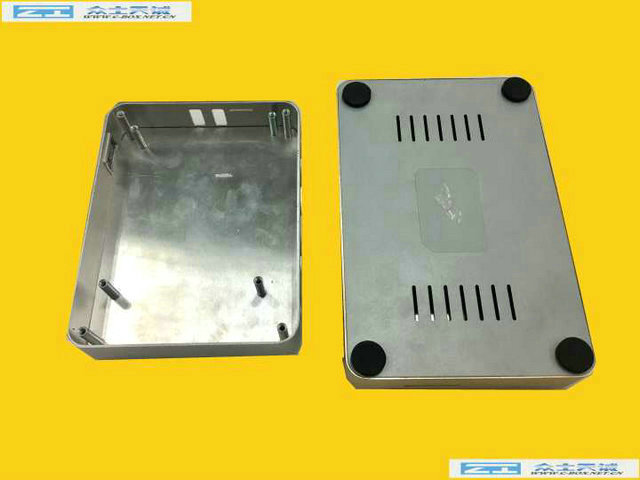 zk-115-3/ 160*105*25mm biggest one media player shell wifi router box aluminum metal enclosure size
