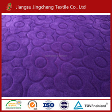 100% polyester 150D/288F cutting fleece/flannel fleece fabric for airplane, travelling, picnic blanket