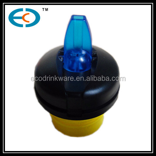different shape customized water bottle lid & cap