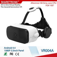2016 Latest Virtual Reality 3D Glasses for Blue Film