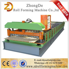 Russian Type C8 C18 IBR Trapezoidal Profile Roof Panel Roll Making Machinery / Roll Forming Machine