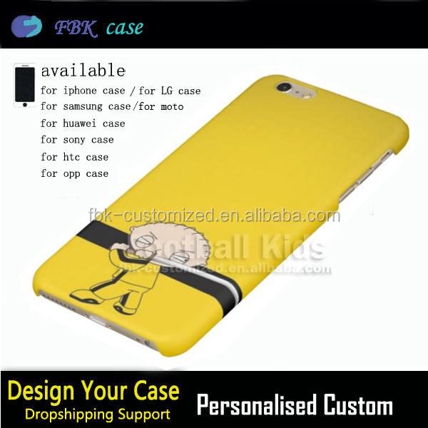 Latest Christmas gift Stewie Kill Bill Style sublimation for iphone 6 cases,3D Mobile Phone Case For Iphone 6 Case Custom Print