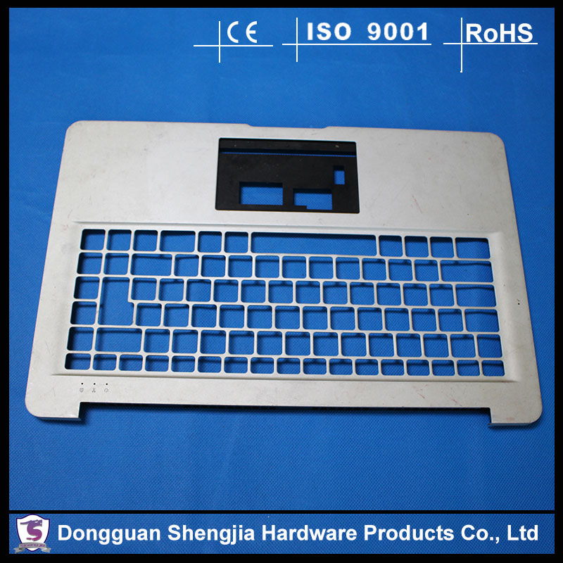 China stamping factory custom stamped aluminum keyboard cover