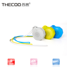 Thecoo mini shower speaker shenzhen bluetooth 2.1 stereo shower speaker