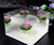 acrylic rose flowers display boxes 6 tier makeup organizer