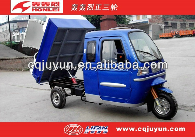 China Sanitation Tricycle/Cargo Tricycle made in China/LIFAN Three Wheel Motorcycle HL175ZH-G02