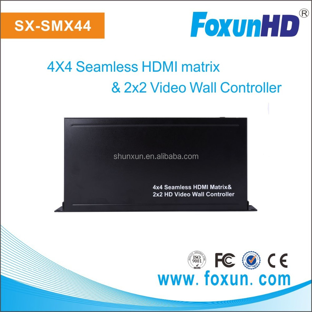 Best Price for 4x4 Seamless HDMI matrix & 2x2 Video Wall Controller