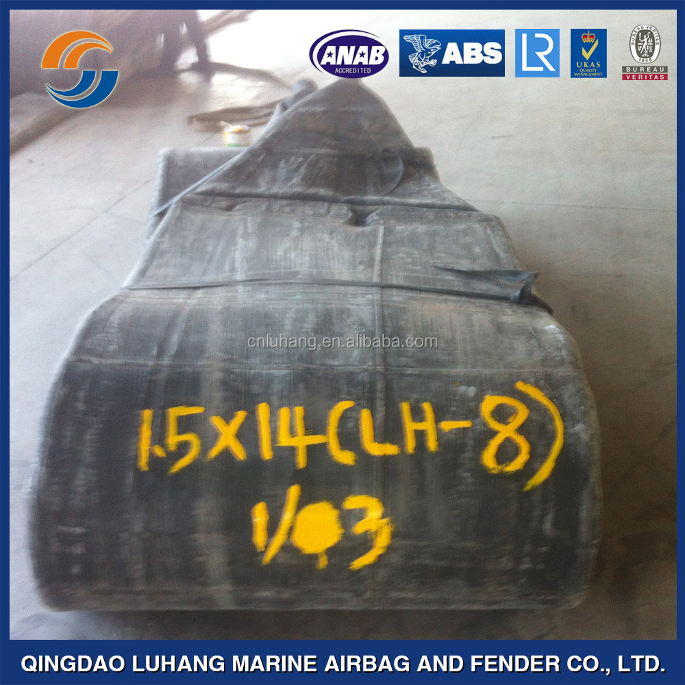 Marine ship boat floating inflatable rubber launching airbag for sale