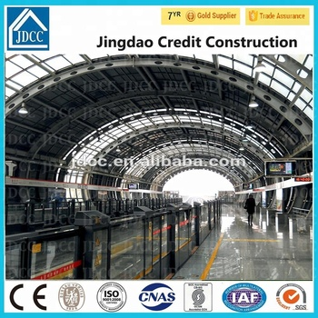 light steel structure arch building
