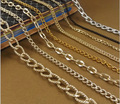 Dongguan custom 14k solid gold chains