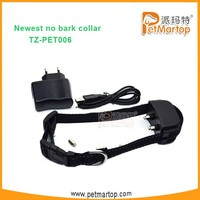 Pet Dog Anti-Bark Training Shock Control No Barking Collars TZ-PET006