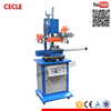 Dual use hot stamping machine for flat or round surface