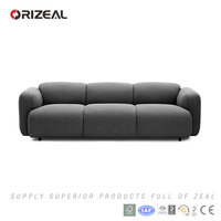ORIZEAL SWELL SOFA SET NEW DESIGNS 2015(OZ-MS6011)