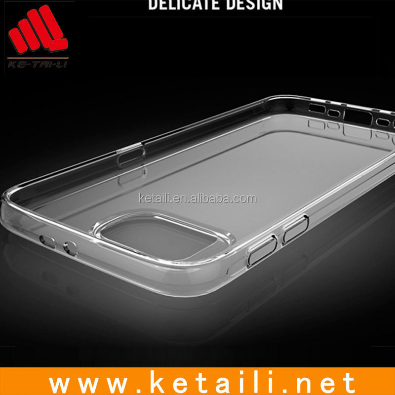 Shenzhen transparent clear TPU phone case for samsung galaxys