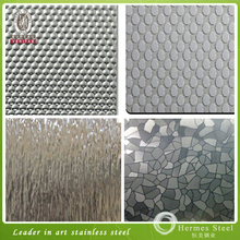 Fashion Design Embossed Stanless Steel Decorative Sheet/Panel for Sale Promotion
