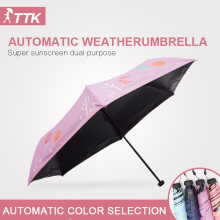 TTK factory direct wholesale supply of seventy percent off black plastic resin bone anti UV manual sun outdoor golf umbrella