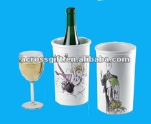 7 1/2 inch ceramic wine cooler