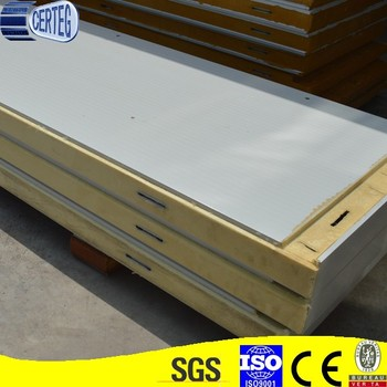 50mm thickness PU sandwich panels for hospital build