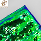Wholesale No Brokers And Intermediaries Double Side Mermaid Reversible China Supplier Sequin Fabric