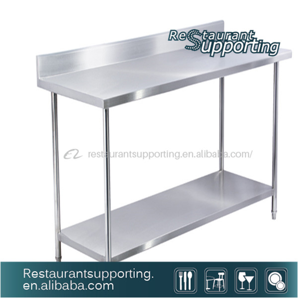 Commercial Hot Sale Hotel Restaurant Kitchen Equipment Stainless Steel Work Table