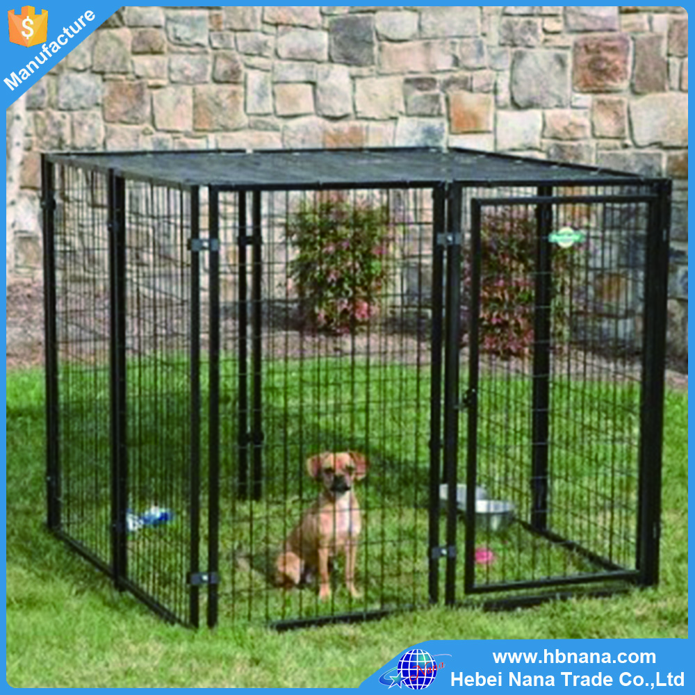 Luxurious steel metal indoor dog kennels