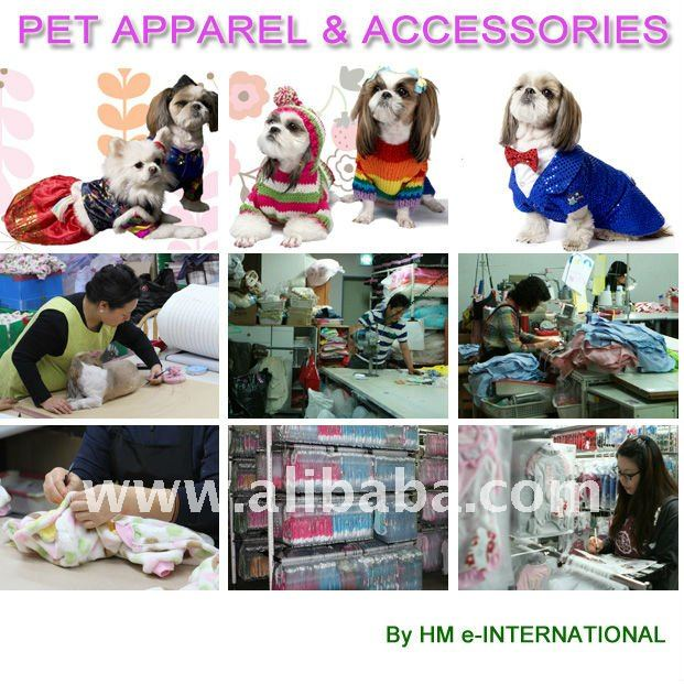 Pet Apparel & Accessories for Dogs and Cats