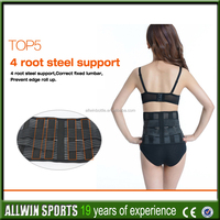 high-quality allwin deluxe neoprene wasit support belt for driverce iso