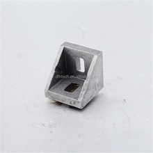 wholesale cheap Aluminum Corner Bracket 30x30 aluminium Right Angle Bracket Joint Fastener with cap