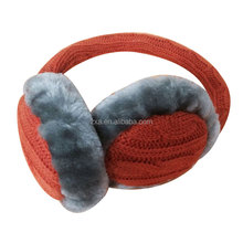 2017 OEM factory hot Selling colorful fashionable cotton warm Earmuff stereo headphones