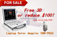Luxury configuration 3D portable doppler ultrasound used medical equipment