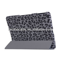 For apple tablet case in leopard skin design protective cover for ipad air