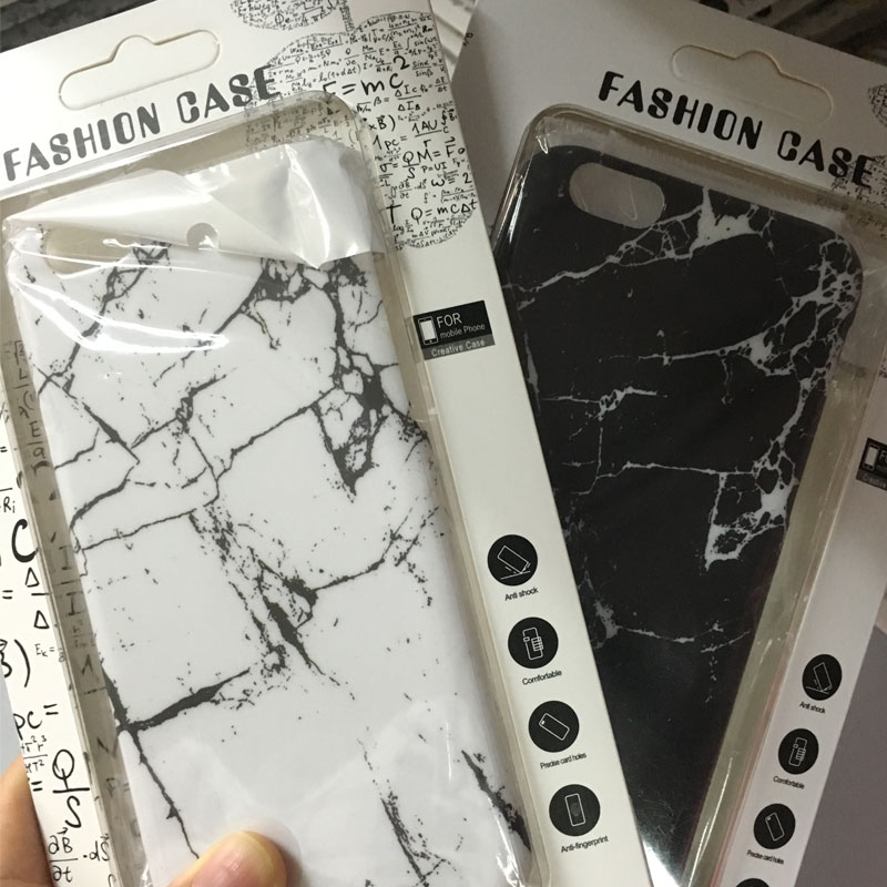 2016 New Arrive High Quality Hard PC marble pattern raised phone case for iphone6