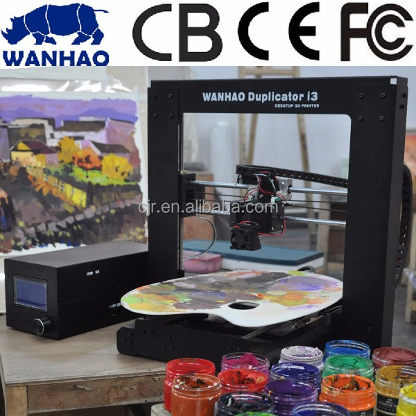 new best sale Wanhao printer i3 sls 3d printer with CE approved