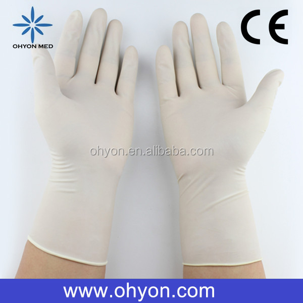 2016 Medical disposable best supplies latex products cheap latex gloves manufacturer