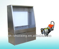 Manual Screen Washout Booth with Backlight, screen washing machine