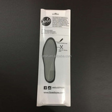 Nice and hot deisgn foot sole patch package clear insole packaging
