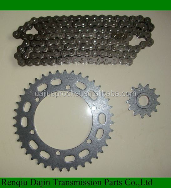 1045# steel high quality motorcycle sprocket for Honda of material c45 carbon steel sprocket /motorcycle sprocket 428 15t