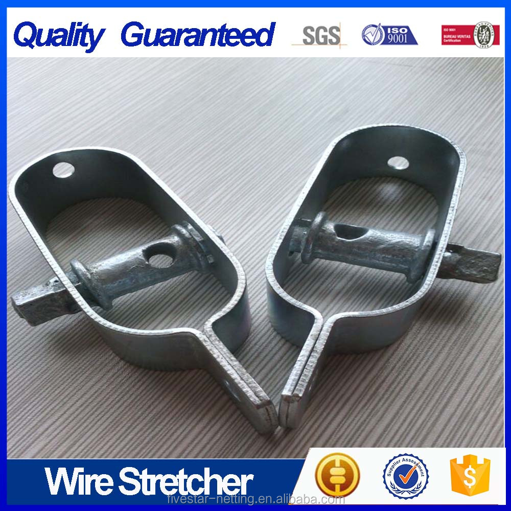 fencing wire strainer of gardening building to tension line wires