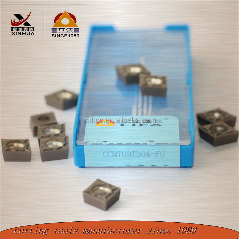 ISO standared CNC indexable tuning CCMT cemented carbide insert