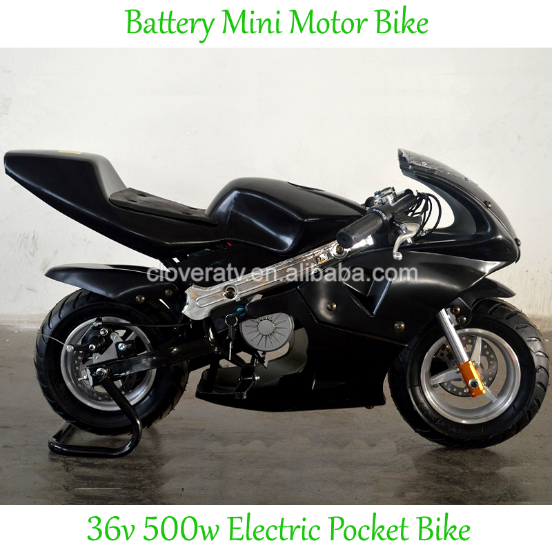 Chinese Mini Pocket Bike 500W Electric Chopper with Motor