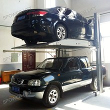 Hydraulic parking lift used car lifts for home garages