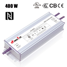 400W NFC programmable IP67 waterproof constant current 0-10V PWM timer dimmable and dim to off LED driver for grow light