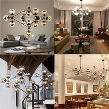 Sputnik Industrial Edison Bulbs Pendant Lamp lighting modern modo iron chandelier lamp for high ceilings jason miller modo