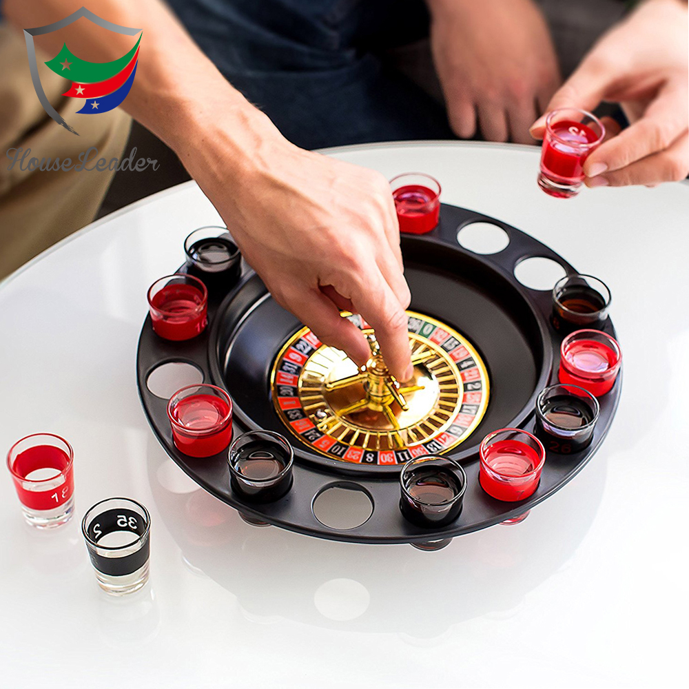 Novelty Shot Glass Drinking Roulette Game for Drinking Party