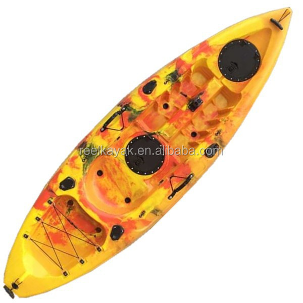 2015 New design Sunrise Angler is a single seat kayak/China kayak/cheap fishing boats