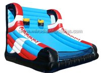 hot hoops basketball game,inflatable trampoline basketball hoops for sale M6023