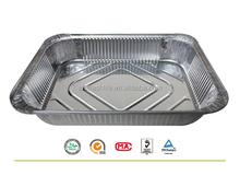 Best selling first rate attractive reasonable price 100% food grade aluminum foil container for food packing