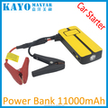 multi function rechargeable battery car jump starter power bank 11000mah